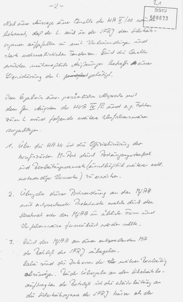 Wolff/Großmann  -Neiber und Franz wurden mit minderwertigen Falschinformationen abgespeist.