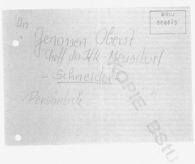 """Wegen Unterkieferbruch in der """"4"""" von Waldheim - Absonderung bei OSL Stöber"""