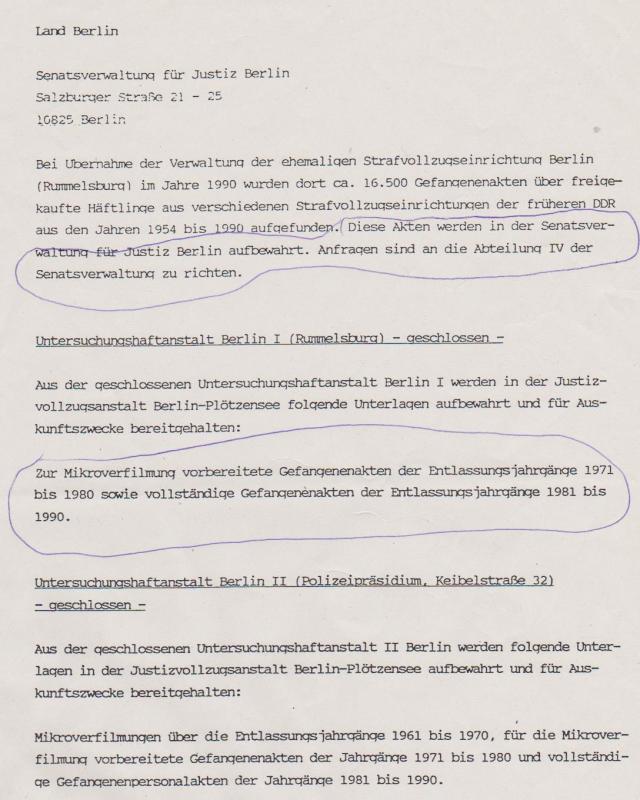 Aufarbeitung des Unrechts a la Deutschland