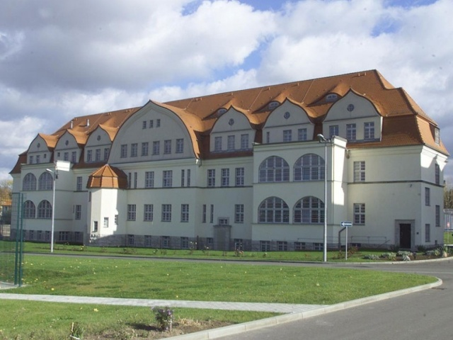 heute JVA Leipzig mit Krankenhaus