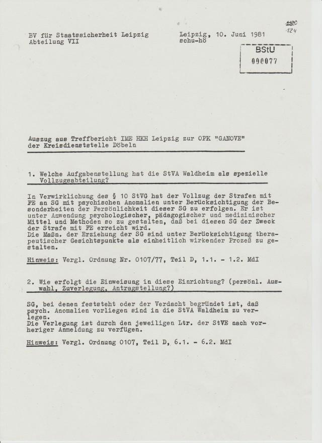 OPK GANOVE -OSL Dr. Siegfried Hillmann      11