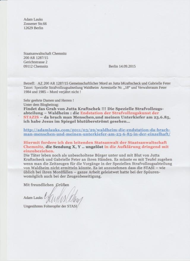 Sechs Frauen waren dem stellvertretendem Leiter der speziellen Strafvollzug Waldheim vögelfrei ausgeliefert. Im Arrest waren die splitterfasernackt wochenlang eingesperrt, wehrlos dem Major Siegfried Hillmann ausgeliefert.