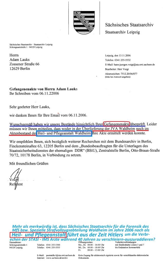 200 AR 1287/15 StA Chemnitz und 24 Zs 507/16 GenStA Dresden ...