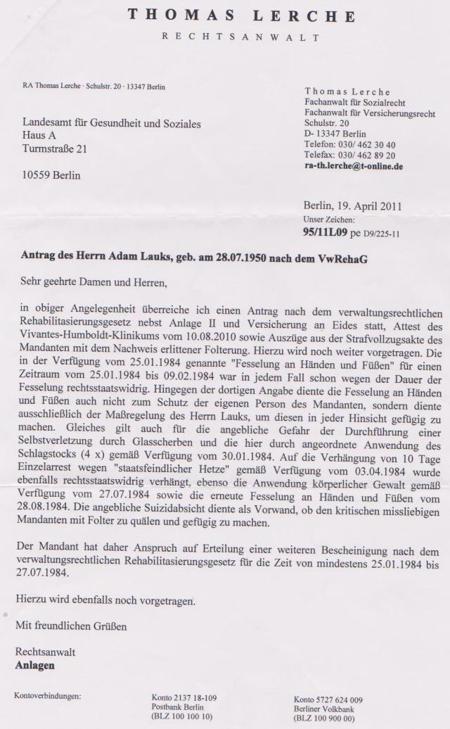 Nimand darf in Deutschland einer Folter unterzogen werden