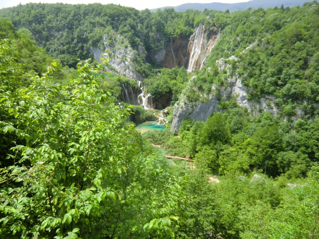 """Über 35 Jahrn war  der Abschnitt des NP vom letzten Wasserfall bis zum Dorf Korana """"abgeschnitten"""""""
