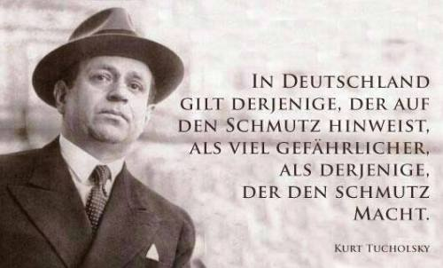 """Frei nach Kurt Tucholsky: """"An die Mörder"""""""