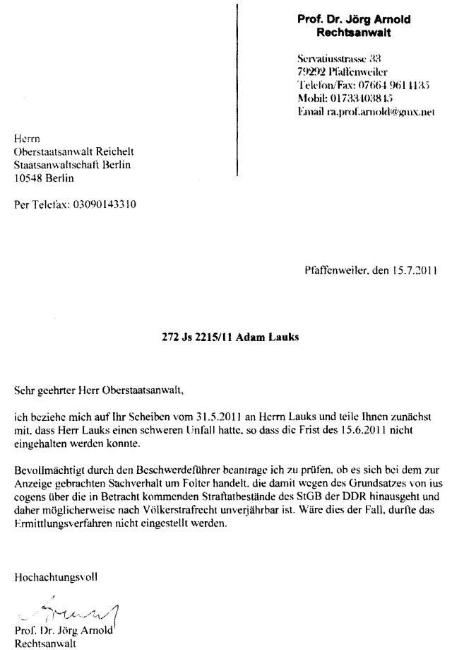 ius cogens - Völkerrecht ist zuständig für die Folter in der DDR 1984