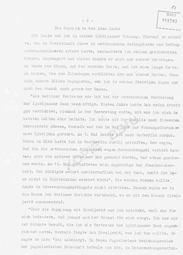 Übersetzung der beiden MLADINA Exemplare an Honecker abgeschickt 007