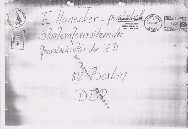 E.Honecker - persönlich 11.02.1987