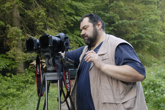 Die ersten 3D Aufnahmen an den Plitvicer Seen machte der Hoffotograf Rade Jug