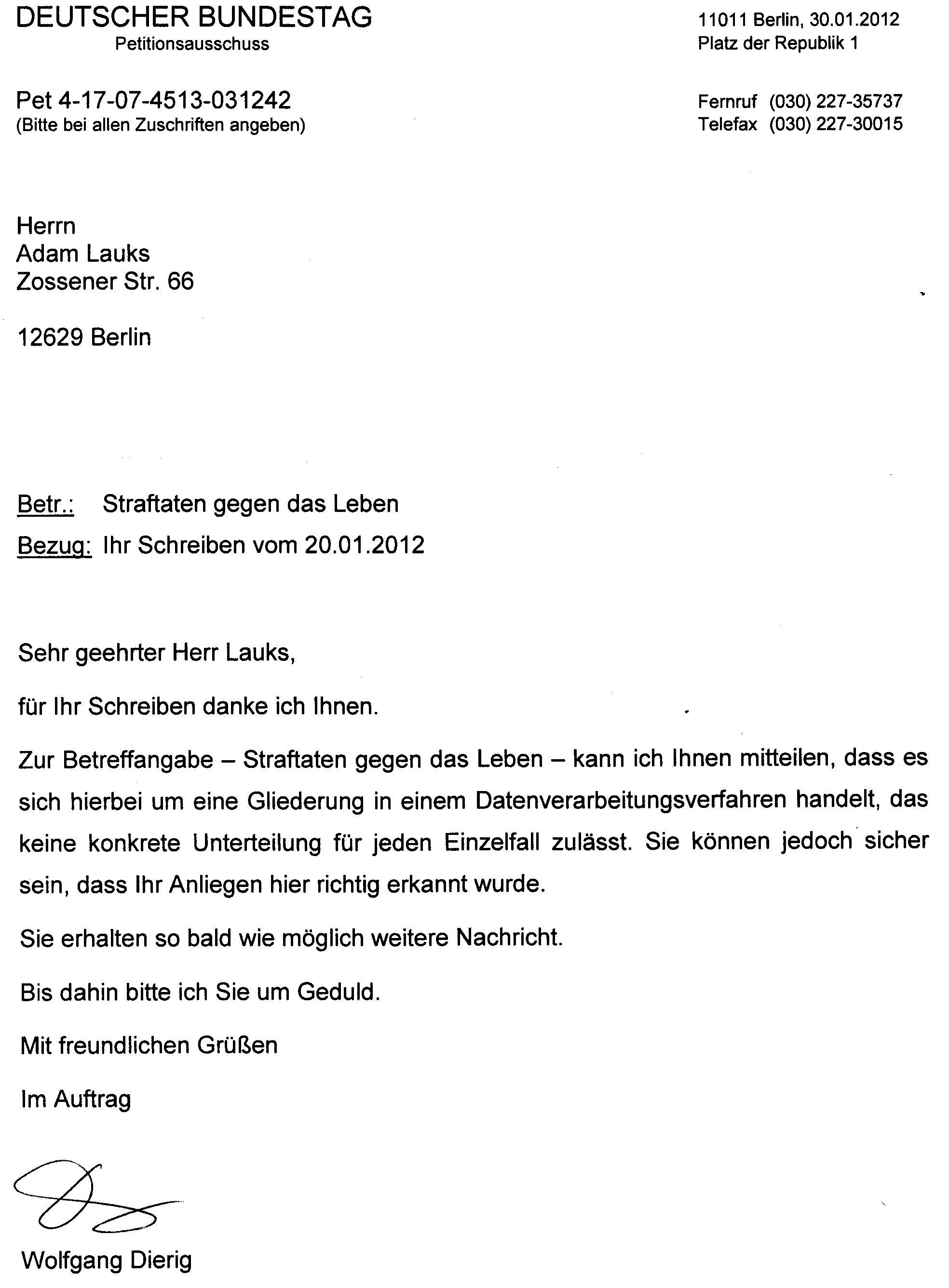 SO looft et bei SED Kersten Steinke im Petitionsausschuss des ...