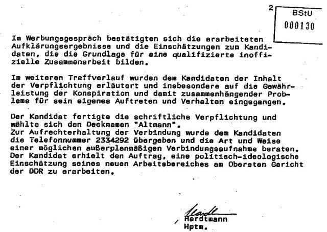 IMS ALTMANN - Bericht an MfS  vom 9.9.87 über Honeckers Besuch 006