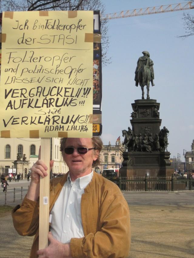 Folteropfer und Politische Opfer lasswn sich NICHT VERGAUCKELN !!!