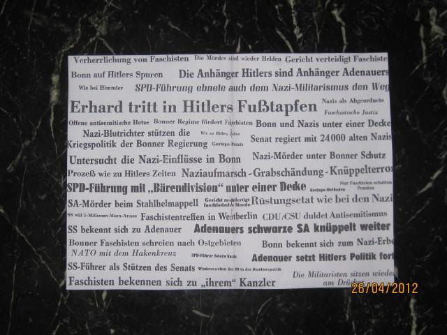 gegen (Feindesland) die Bundesrepublik / Ausschnitte aus