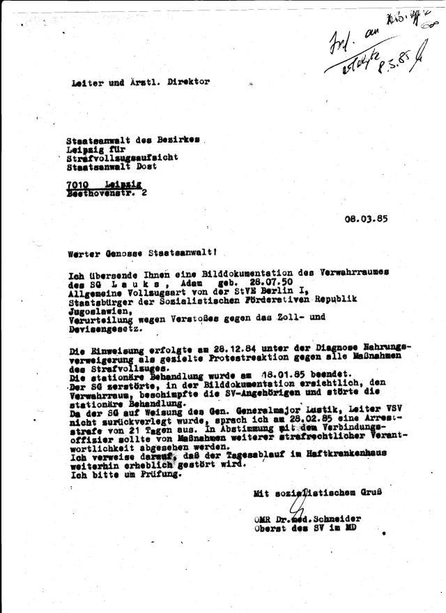 Schmuggler - Botschaftsfahrer SFRJ nicht Adam Lauks 006