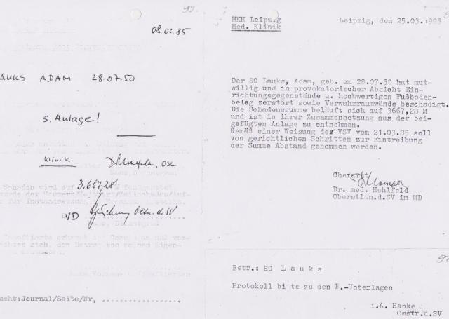 Krieg gegen die STAZIS - Kolateralschäden im HKH Leipzig Meusdor 001
