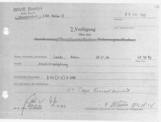 Also konnte ich niemals am 14.01.1994 in der Charite gewesen sein - Urkundenfälschung gehörte zum Handwerk des IME NAGEL