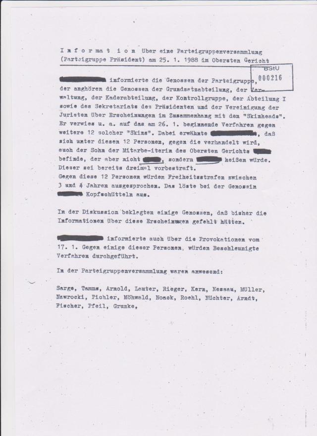 IMS ALTMANN - Bericht an MfS  vom 9.9.87 über Honeckers Besuch 003