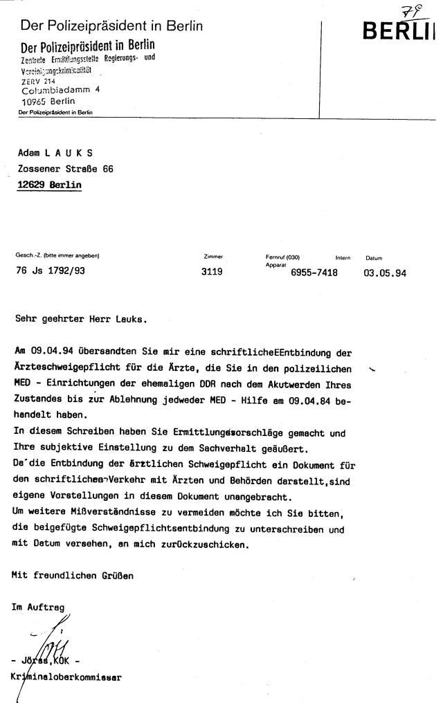 30 Js 1792 93 Ermittlungsverfahren der Staatsanwaltschaft II Bln 029