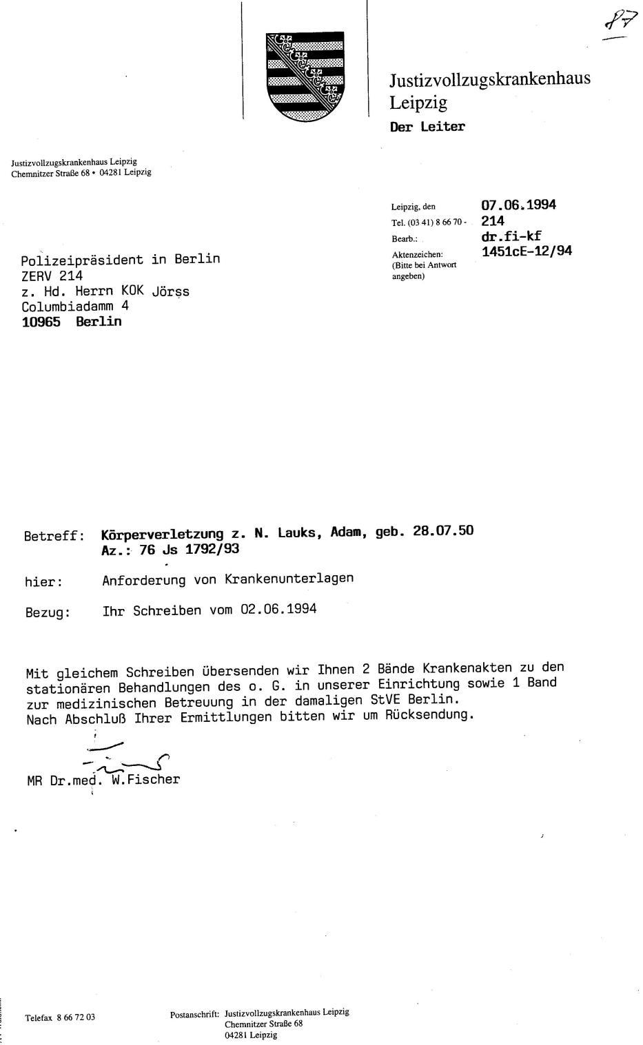 30 Js 1792 93 Ermittlungsverfahren der Staatsanwaltschaft II Bln 039
