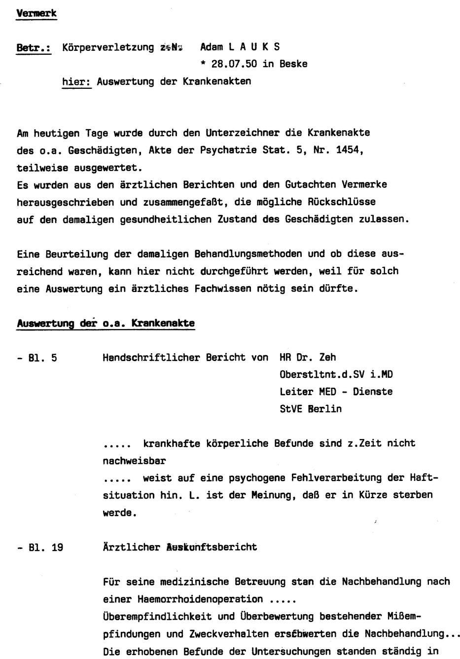 30 Js 1792 93 Ermittlungsverfahren der Staatsanwaltschaft II Bln 040