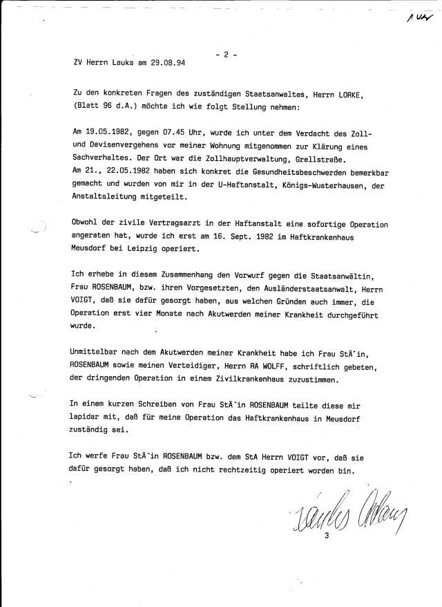 30 Js 1792 93 Ermittlungsverfahren der Staatsanwaltschaft II Bln 058