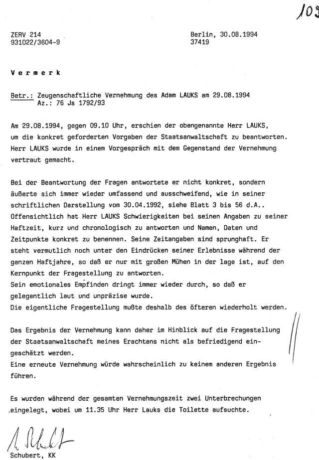 30 Js 1792 93 Ermittlungsverfahren der Staatsanwaltschaft II Bln 065