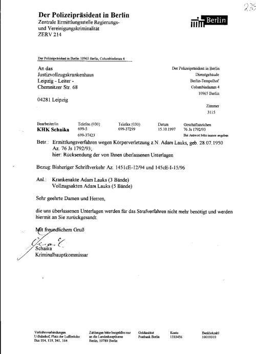 Ermittlungsverfahren 30 Js 1792 93 044