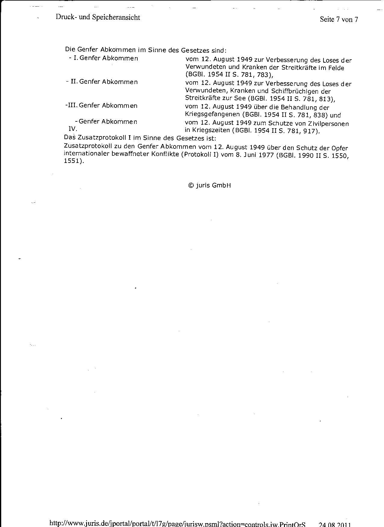 Ermittlungsverfahren auf Strafantrag wg. Folter 272 Js 2215 -11 007