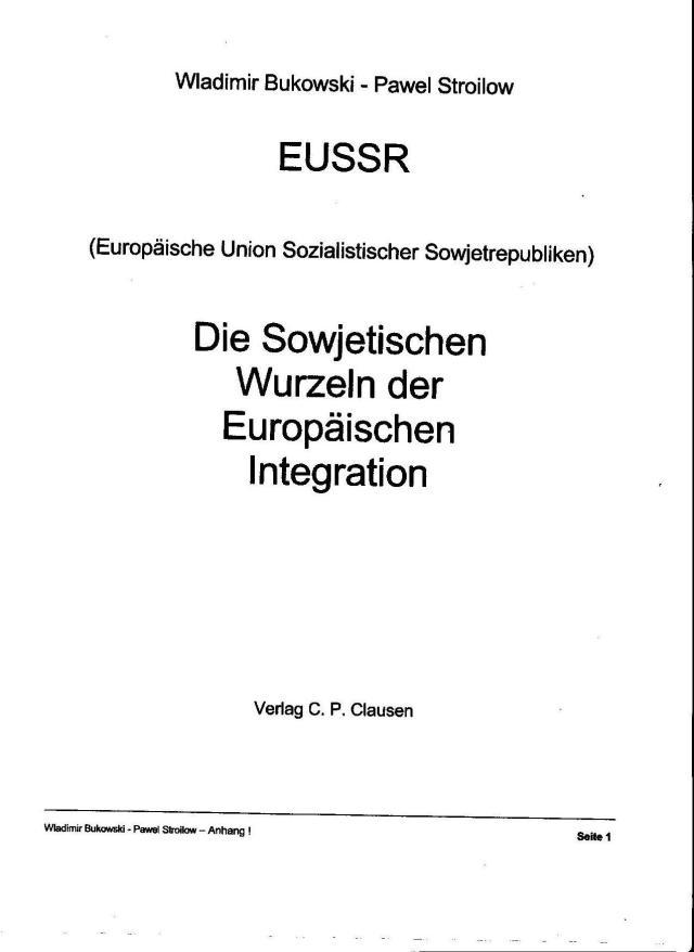 Deutsche sollten das alles nicht lesen... und nicht wissen !?