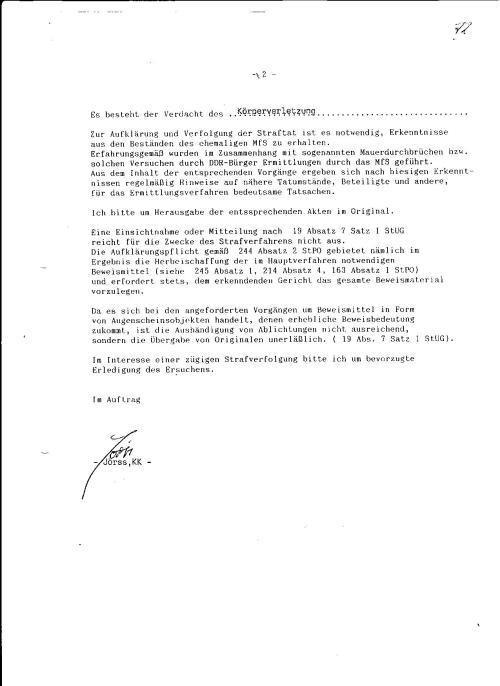 Strafanzeige gegen die Gauckbehörde 003