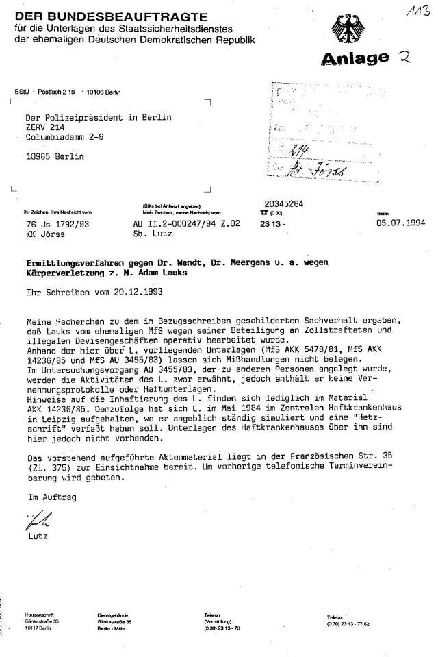Strafanzeige gegen die Gauckbehörde 004