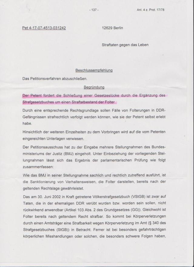 PETITION FOLTER  abgelehnt 001