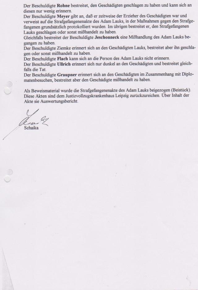 Akten - Beweise - Unterdrückung §258a Gauck und StAII 1992-1997 007