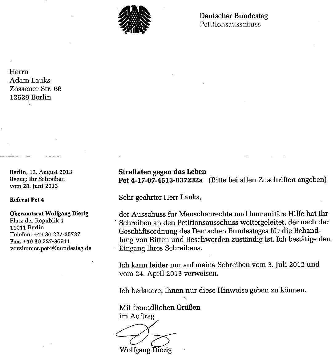 Petitionsausschuss Schützt Gauck Behörde Adamlauks Blog