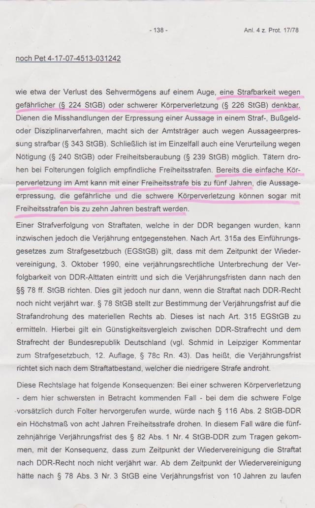 Kersten Steinke - Implementierung § Folter abgelehnt 002