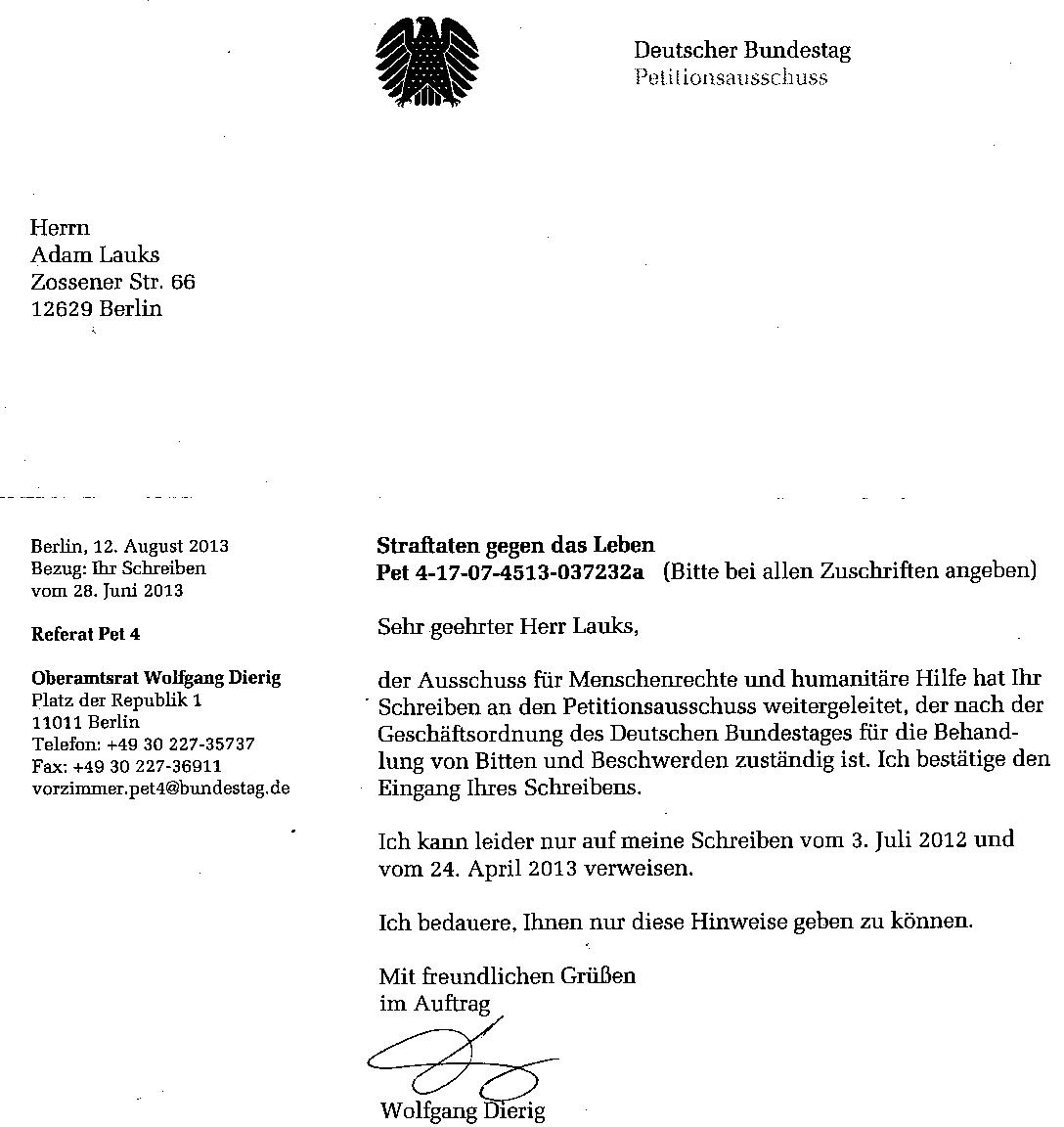 Briefe Mit Anlagen : Offener brief an den bundestagsprÄsidenten prof dr