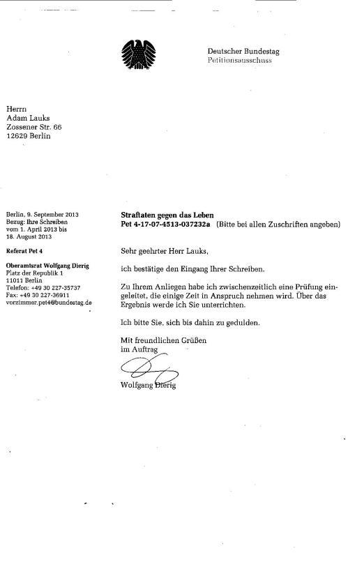 Anmaaßung des Joachim Gauck bei der Zuarbeit zur Juristischen Aufarbeitung der mittleren und schweren Verbrechen der STAZIS