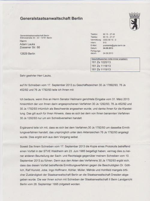 Generalstaatsanwaltschaft unterdrückt Beweise für Kieferbruch 001