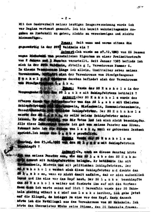 Generalstaatsanwaltschaft unterdrückt Beweise für Kieferbruch 003
