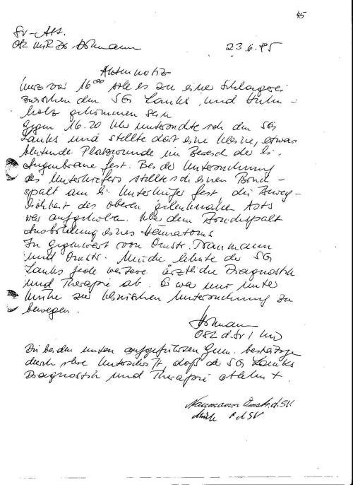 Generalstaatsanwaltschaft unterdrückt Beweise für Kieferbruch 005