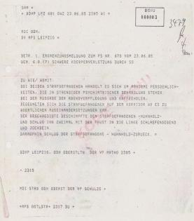 """Lügen zweck´s Täterschutz. Anschlag fand in der Absonderungszelle """"4"""""""