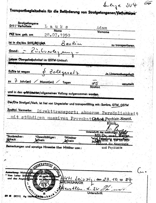 Schmuggler - Botschaftsfahrer SFRJ  nicht Adam Lauks 005