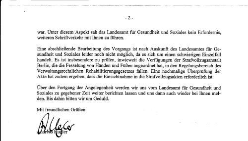 Petitionsausschuss an RA Lerche 001