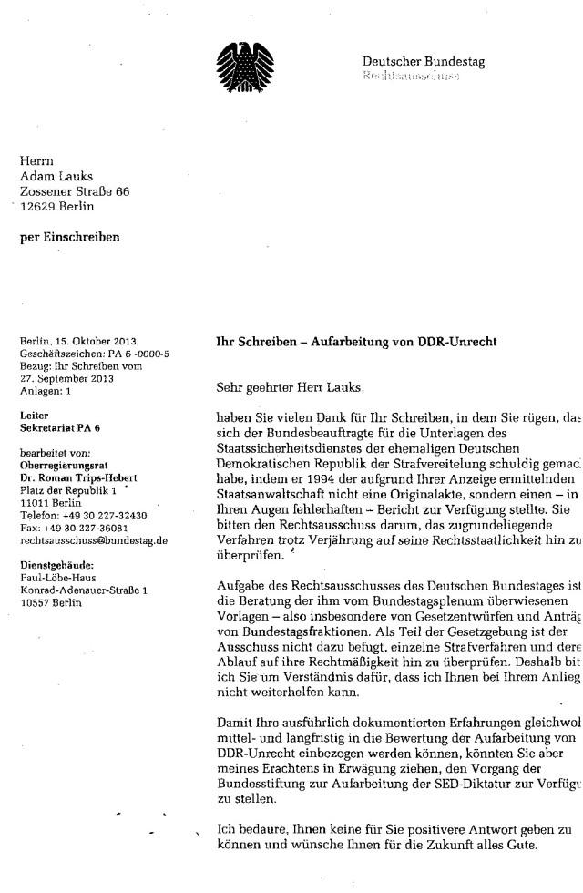 Es geht längst nicht mehr um die Aufarbeitung des DDR Unrechts