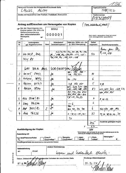 """Laut  angeblich StUG  durfte ich die Beweise  über die schwere Körperverletzung in der Isolation der Zelle """"4"""" nicht einsehen und als Kopie nicht erhalten !??"""