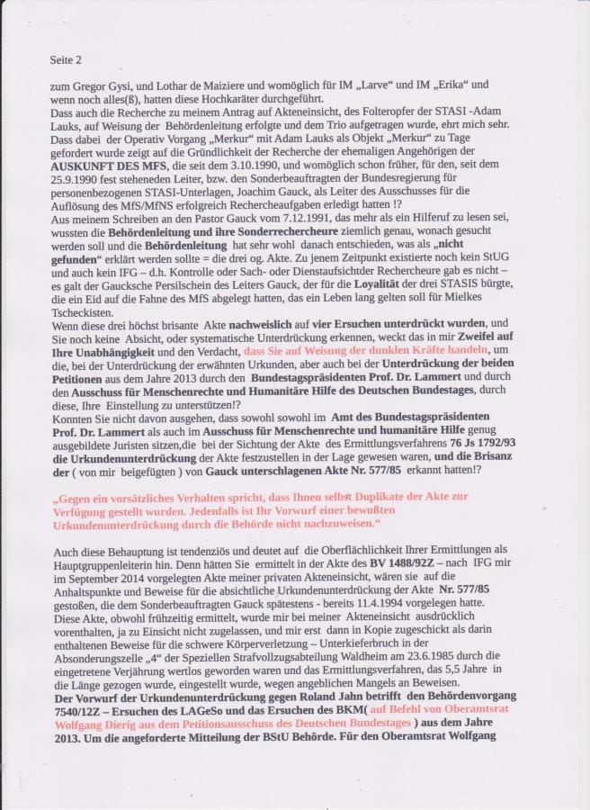 Antwortschreiben-Beschwerde StA Wißmann-Koch 002 | AdamLauks Blog