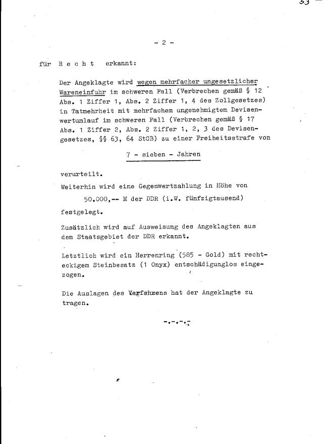 Ich hatte NIEMALS eine einzige Uhr ungesetzlich über die DDR Grenze gebracht, habe keine einzige Uhr an einen DDR Bürger verkauft und habe keine DDR Mark unerlaubt aus der DDR rausgeschmuggelt. Zeuge : Zum Oberkomissar gemachte Genosse Ehlert - erreichbar am Hauptzollamt Berlin, Mehringdam 129c DAS ist die WAHRHEIT und nichts als DIE WAHRHEIT