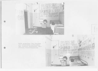 """Nachschub an Toilettenpapier wurde vom Feind eingestellt - beim """"Gegenangriff """" meinerseits musste """"Bello"""" dran Glauben, den die Scheisse brauchte ich zum Schreiben- wie man sieht - es ging."""