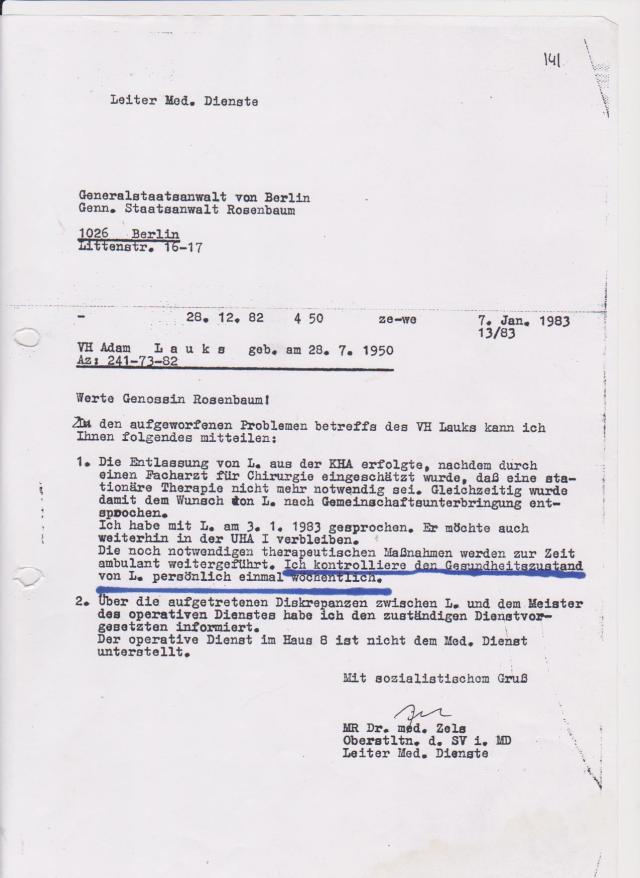 Hier ist der Beweis dass IM NAGEL und Diebin Staatsanwältin Rosenbaum eng zusammengearbeitet haben um dmeinen Rechtsanwalt und meine Botschaft von der